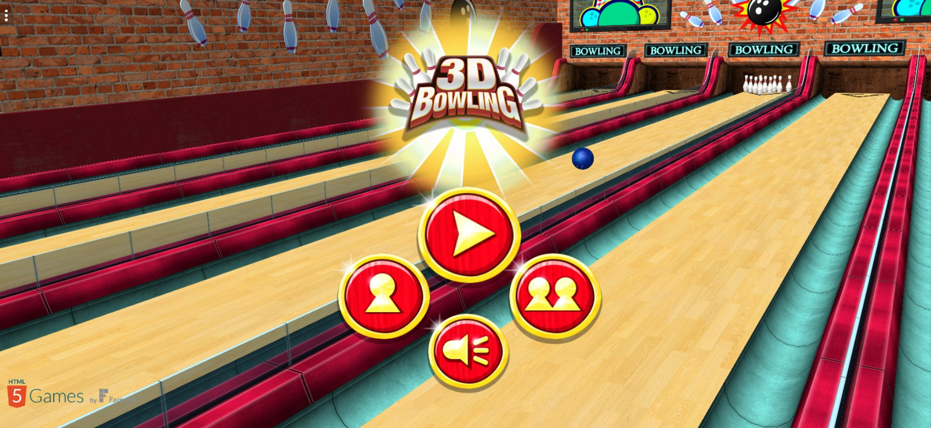 Image 3D Bowling: Strikes and Spares