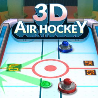 3D Air Hockey: Block & Score