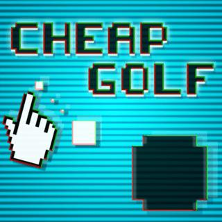 Cheap Golf: Retro Computer Putt-Putt