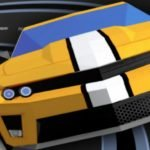 Slot Car Race: Don't Go Too Fast!